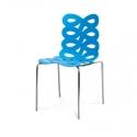 Chaise azur ruban 282