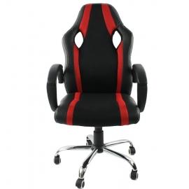 Chaise de bureau ENZO ROSSO RED