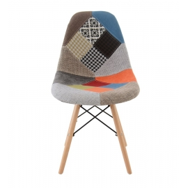 Chaise Retro patchwork