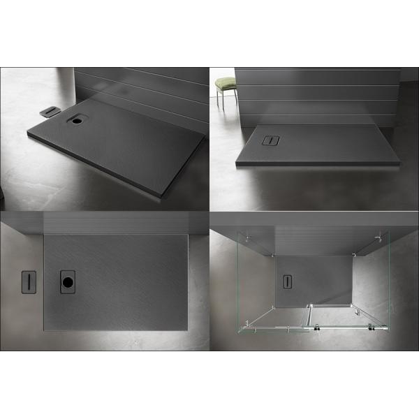 receveur de douche stone 90x90. Black Bedroom Furniture Sets. Home Design Ideas