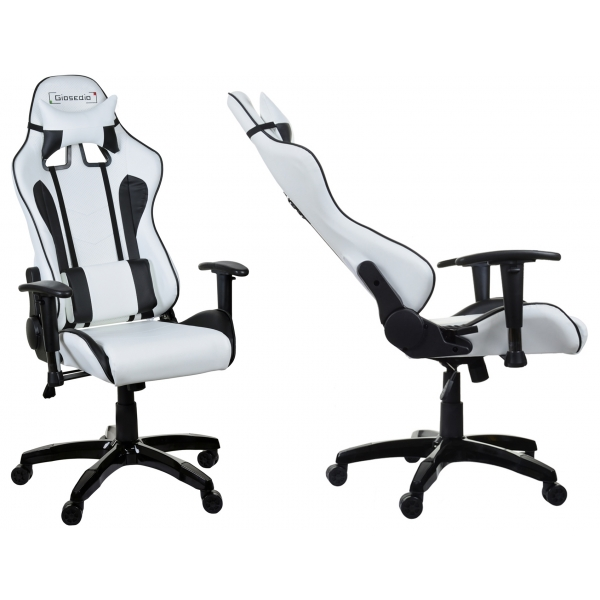 chaise de bureau blanc maison design. Black Bedroom Furniture Sets. Home Design Ideas