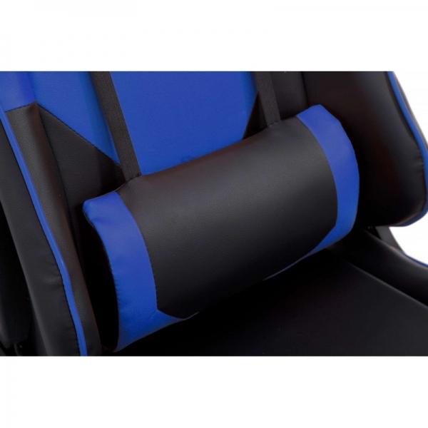 Chaise De Bureau Gamer Racer Bleu