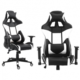 Chaise de bureau (gamer) Racer white
